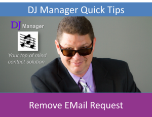 Remove EMail Request