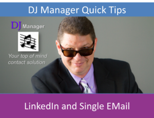 LinkedIn and Single EMail